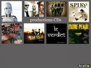 portfolio site productions CDs